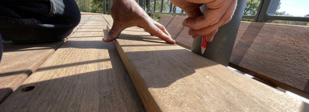 conception pose terrasse bois en vendee