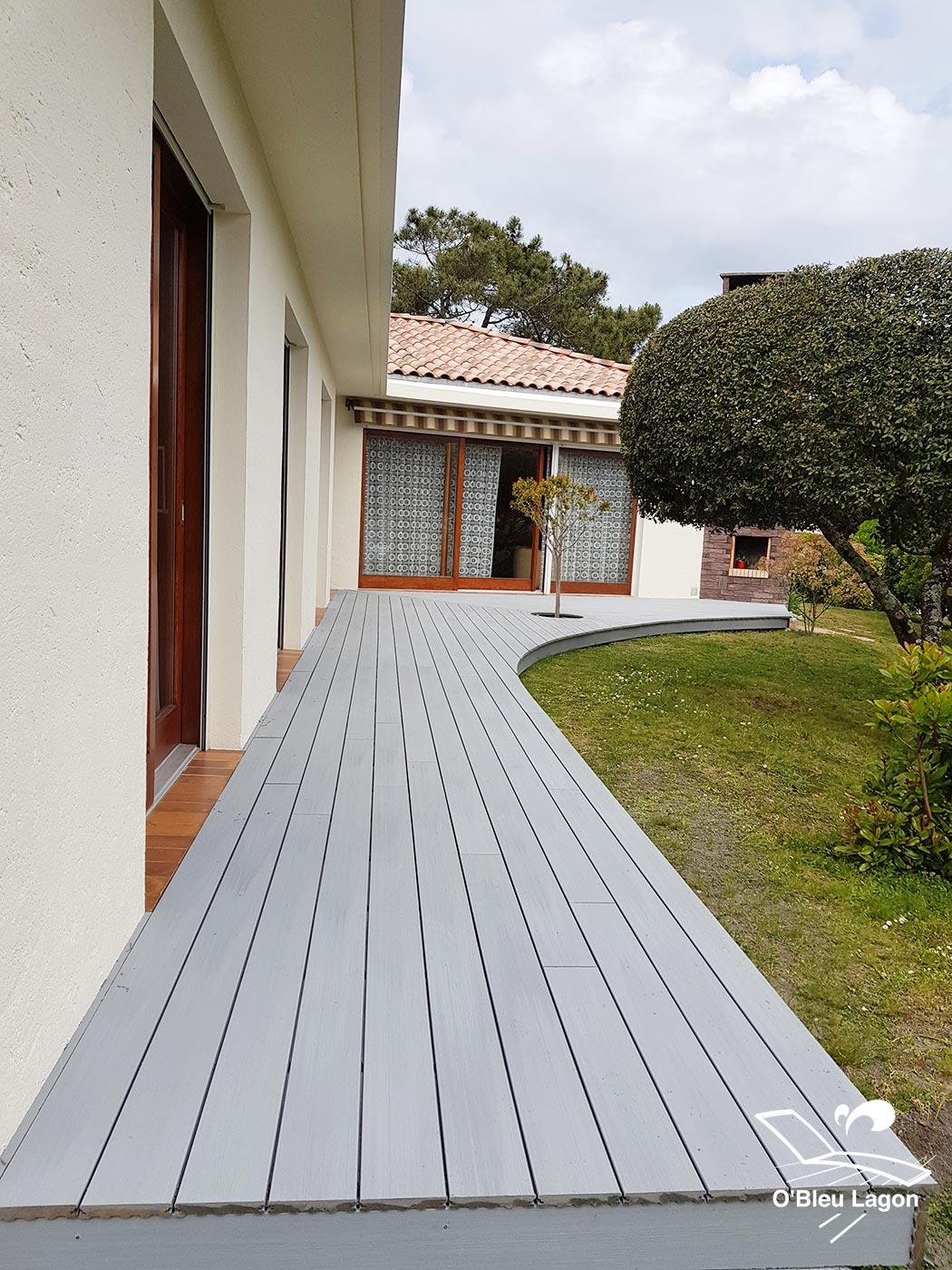 conception terrasse bois derive composite avec courbe vendee
