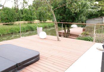 conception terrasse composite autour spa vendee