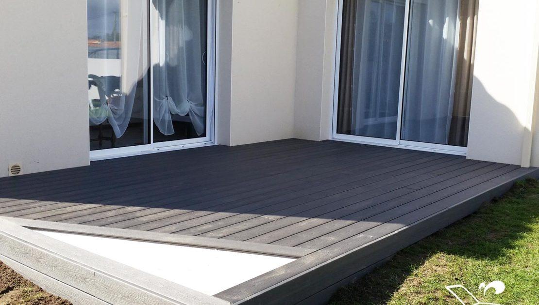 conception terrasse pavillon composite vendee